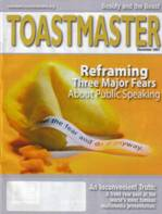 Presentation skills articles in Toastmaster magazine