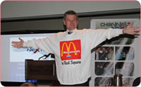 Business speaker, George Torok tells the story about opening the first McDonalds in Russia