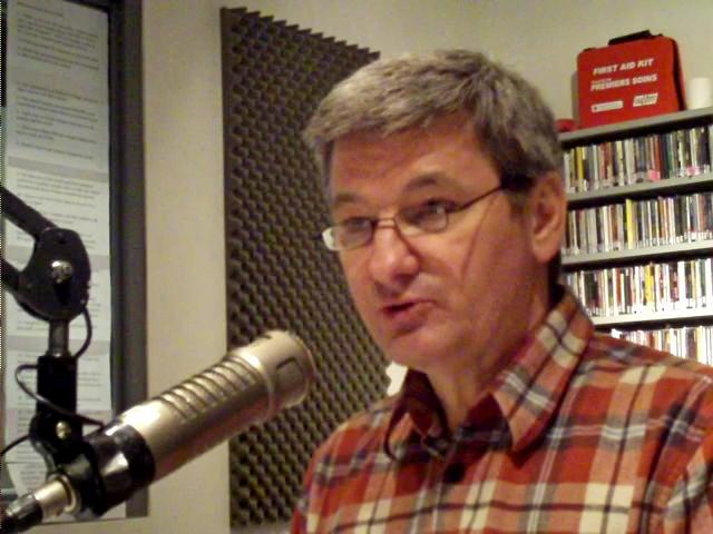 Interview radio show host, George Torok